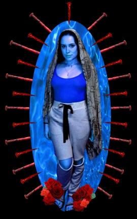 Blue Madonna.