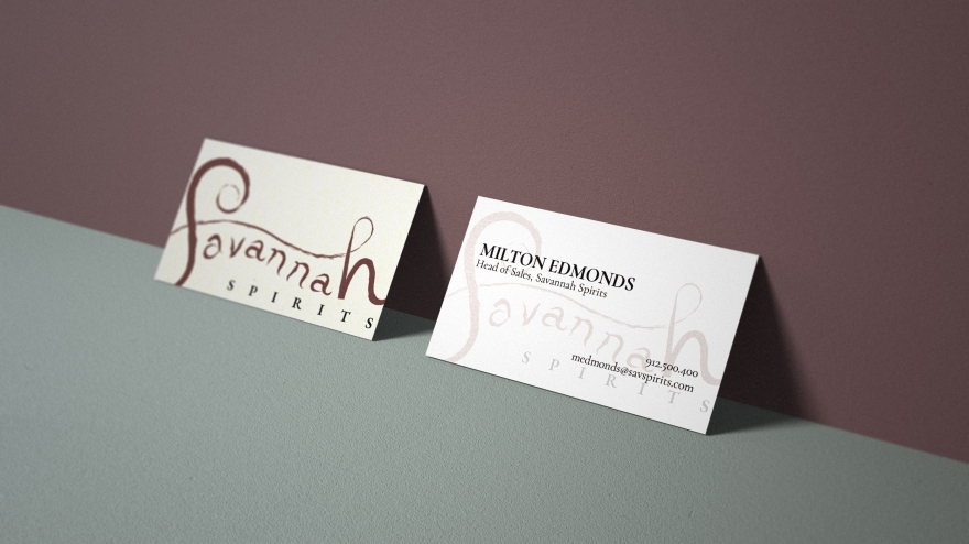 Spirits Business Cards
